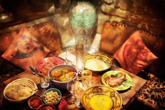 diner oriental evjf a marrakech