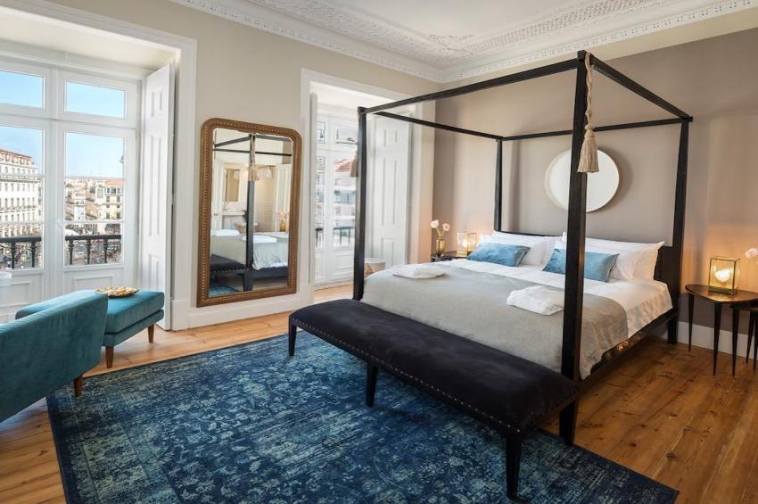 chambre dans un hotel de luxe a lisbonne