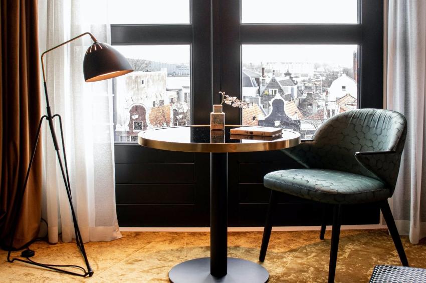 chambre dhotel avec vue sur amsterdam