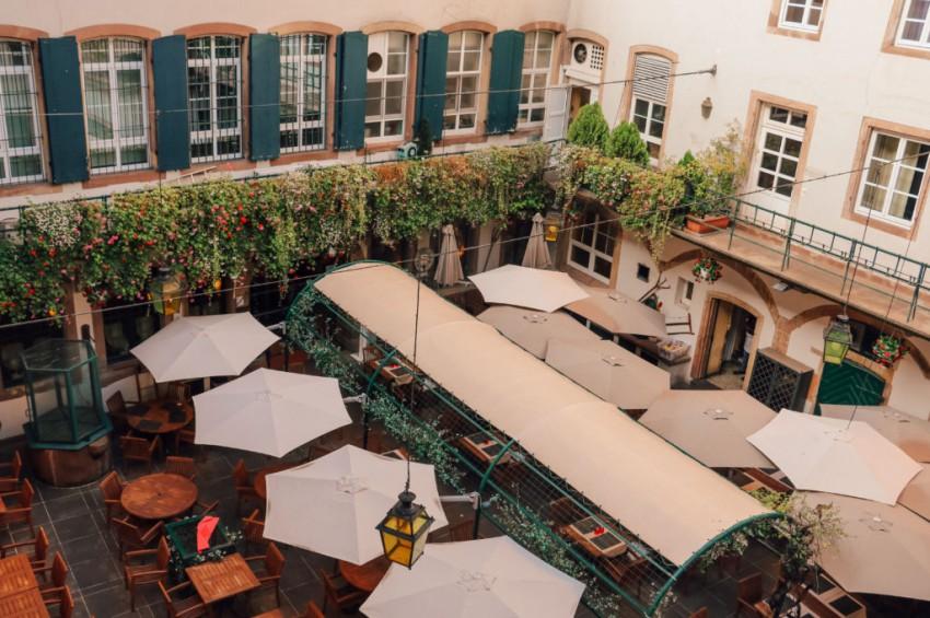 hotel avec terrasse dans le coeur de strasbourg