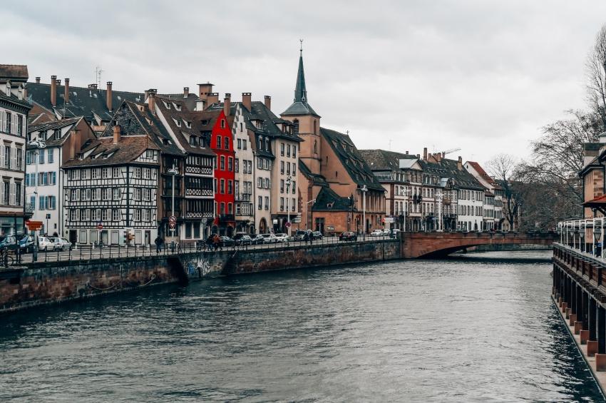panorama de la rivière III a strasbourg
