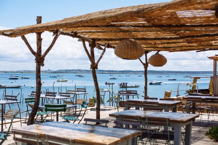 restaurant en bord de mer a arcachon