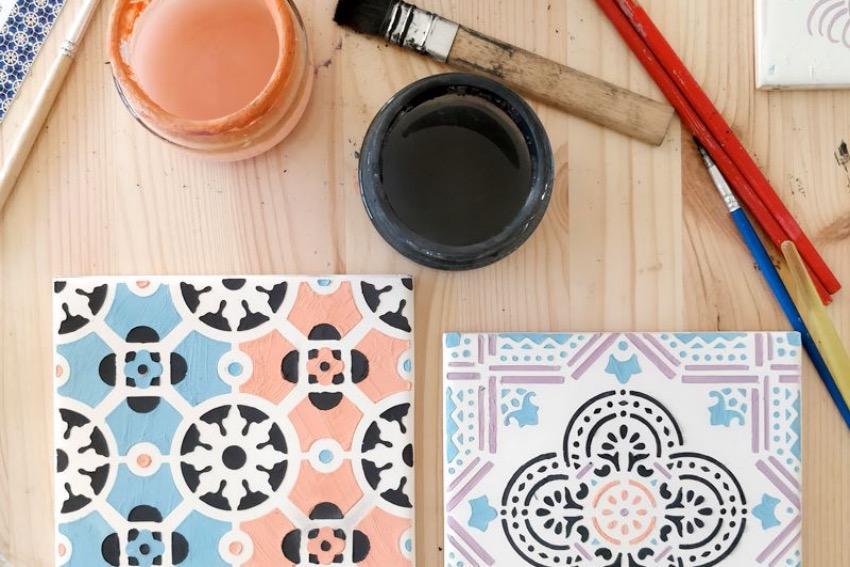 Atelier DIY Azulejos evjf Lisbonne