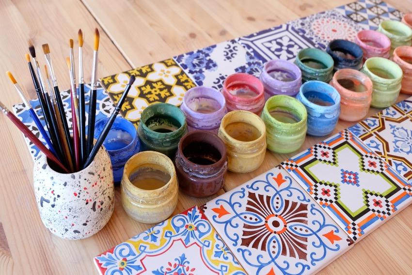 Atelier DIY Azulejos evjf Porto