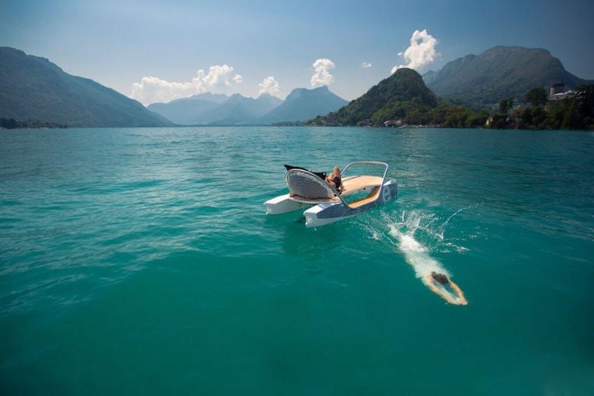 activite pedalos au lac dannecy pour un evjf