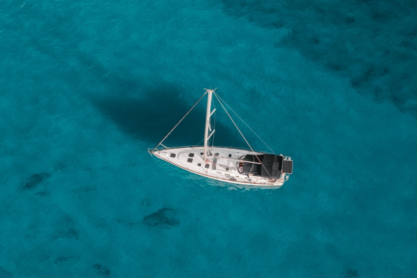 balade en mer avec un voilier privatisé