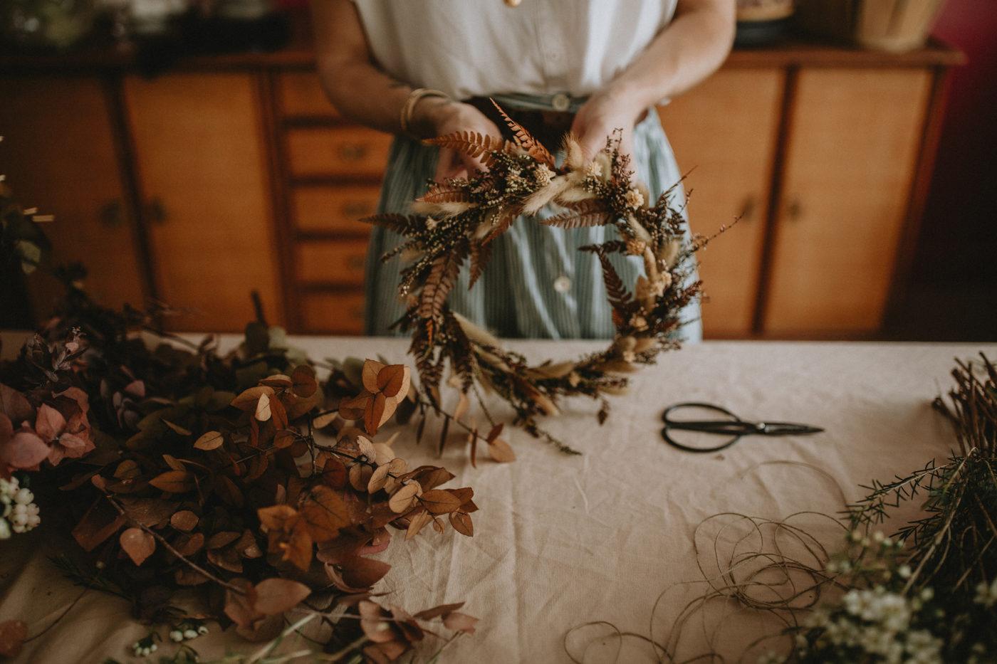 atelier couronnes fleurs deauville