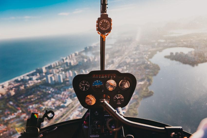 activite balade en helicoptere
