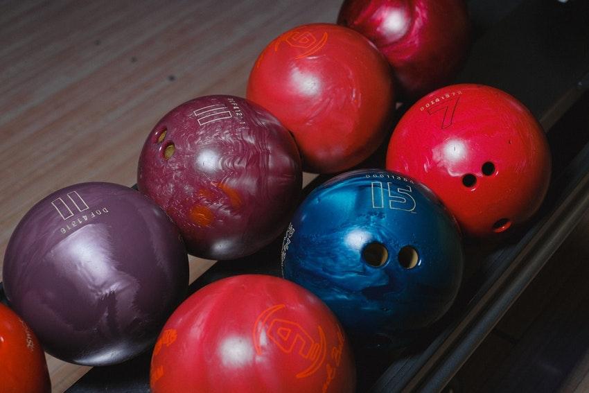 boules de bowling colores