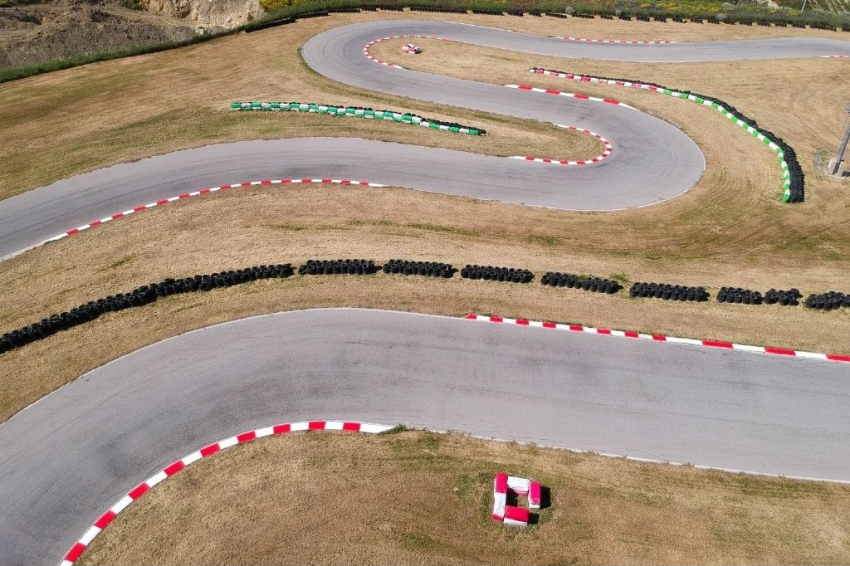 circuit de karting en exterieur