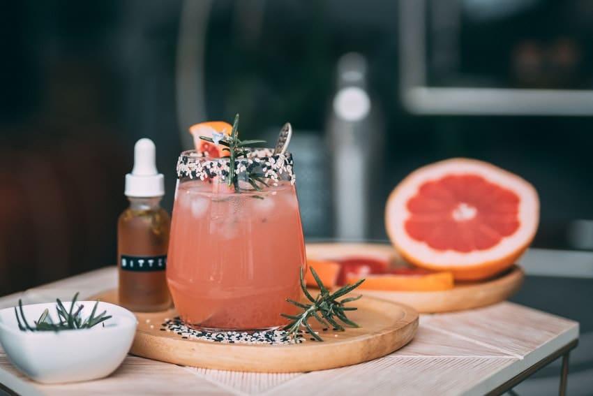 cocktail au pamplemousse