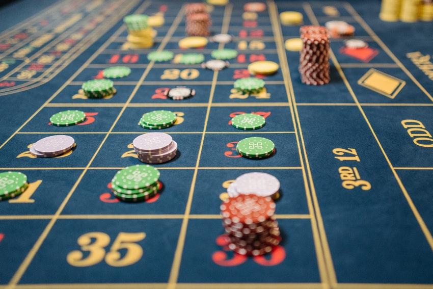 tapis de jeu casino jetons